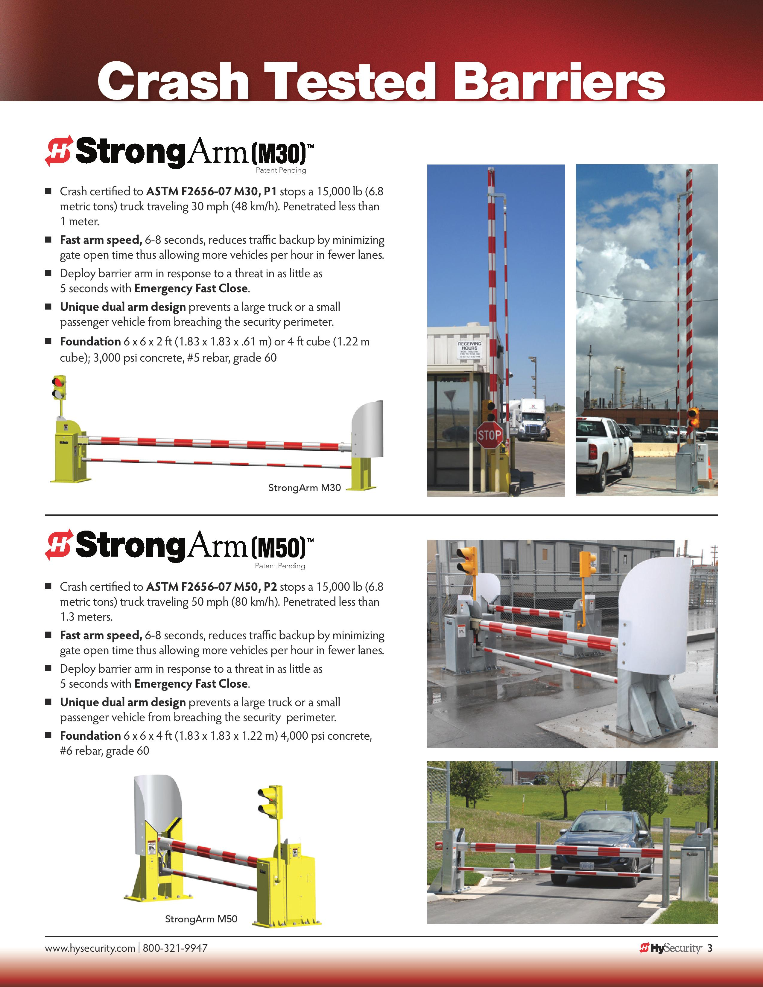 New Hysecurity Gate Operators Elwer Fence Wiring Diagram Brochure Strongarmm30 M50 D0516 Page 003